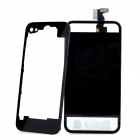 Replacement LCD Touch Screen + Back Cover Module w/ Tools Kit for iPhone 4 - Black