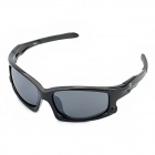 OREKA 001 Sports Grey PC Lens UV400 Protection Sunglasses - Black Frame