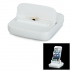 Data / Charging Dock w/ Holder for Iphone 5 / Ipad MINI / Ipod Touch 5 - White