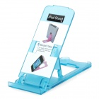 Portable 5-Angle Universal Stand Holder Support for Iphone / Ipad / Cell Phone - Light Blue