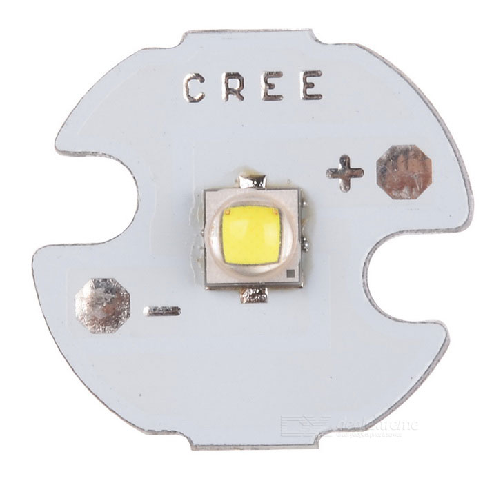 CREE-XPG-2 5W 463lm 6500K Cold White LED Emitter Module (3.2~3.7V)Leds<br>ModelCREEMaterialAluminumForm  ColorWhiteQuantity1EmitterPower5Color BINWhiteRate Voltage3.2~3.7Emitter TypeLEDTotal Emitters1Power5Packing List<br>