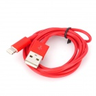 USB Data / Charging 8-Pin Blitz-Kabel für iPhone 5 - Rot (103cm)