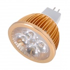 GX5.3 4W 6500K 360lm 4-LED White Spotlight Bulb (DC 12V)