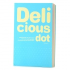 Deli B150 Paper Notebook Diary - Sky Blue (200-Page)