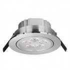 HIWin SDY592 5W 450lm 6500K White 5-LED Ceiling Down Light w/ LED Driver - Silver