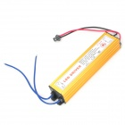 Waterproof 25W Power Supply Constant Current Source LED Driver - Yellow (AC 85~265V)