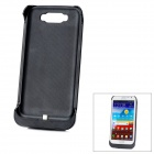 Rechargeable 3600mAh Mobile External Battery Pack for Samsung Galaxy NOTE II N7100 - Black