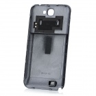 Replacement 6500mAh Battery + Protective Back Cover for Samsung Galaxy Note 2 - Sapphire Blue