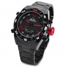 WEIDE WH2310 Sports LED Digital + Analog Quartz Wrist Watch for Men - Black