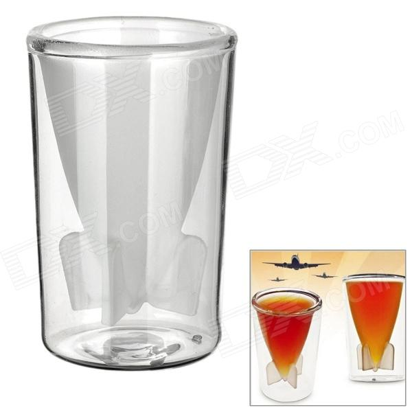 Creative Bombs Away Shot Glass Mug Cup - Transparent lucky shot drinking roulette game 6 cup set
