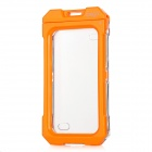 IPEGE Water Resistant Protective Plastic Full Cover Case for Iphone 4 / 4S - Orange