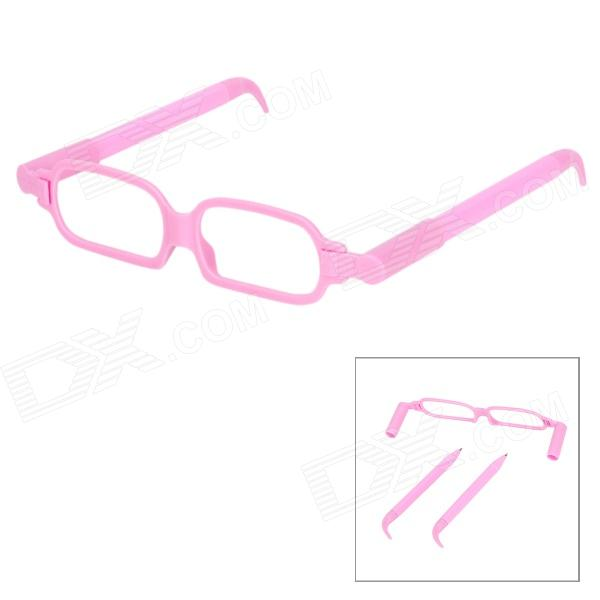 Cute Glasses Frame Ballpoint Pen - Pink (2 PCS)