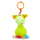 Bed Hanging Baby Bell Ringing Little Donkey Doll - Sulfur Yellow
