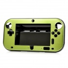 Protective Plastic + Aluminum Alloy Cover Case for Wii U GamePad - Green + Black