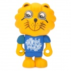 Magnifying Glass Eyes Lion Style PVC Toy for Baby - Blue + Yellow