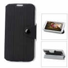 Protective PU Leather Case for Samsung Galaxy Note II N7100 - Black