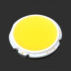 DPD-44-0805 DIY 8W 840lm 3200K Warm White Round COB LED Module - White + Yellow (DC 24~27V)