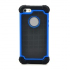 Detachable Design Protective Back Case for iPhone 5 - Blue + Black