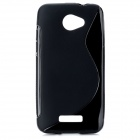 Protective TPU Back Case for HTC Droid DNA x920E - Black