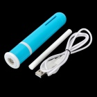 Mini Portable Test Tube Style Ultrasonic USB Air Humidifier - Blue