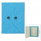 Stylish Protective PU Leather Case for Ipad 4 - Blue
