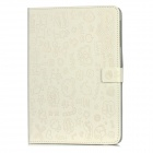 Cute Pattern Protective PU Leather Case for Ipad MINI - White