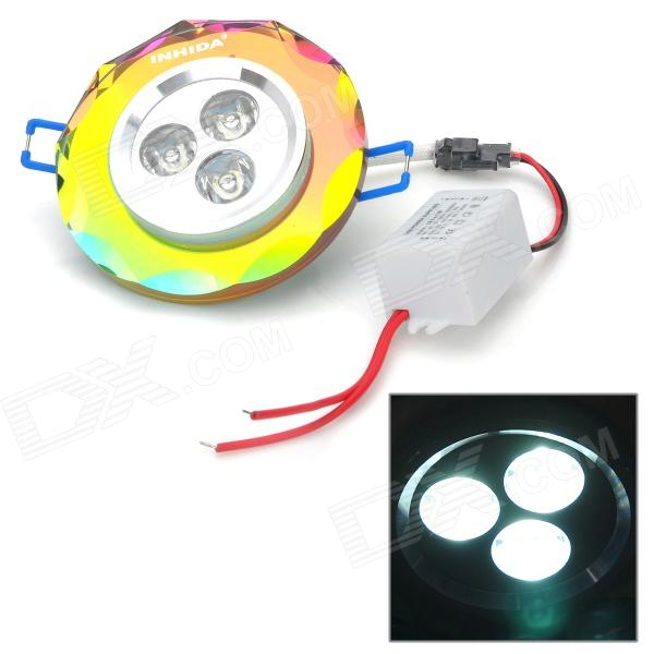 INHIDA IHD - U03A011W 3W 255LM LED Ceiling Down Light ( 86 ~ 265V )