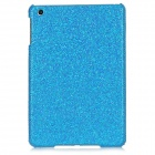 Protective Plastic Shinning Back Case for iPad Mini - Blue
