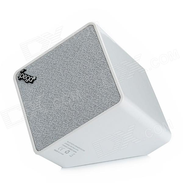 IPEGA PG-IH099 Bluetooth Stereo Speaker for Ipod / Iphone / Ipad / MP3 + More - White