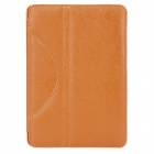 Lychee Pattern Protective PU Leather Case for Ipad MINI - Orange