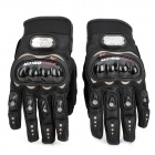 PRO-BIKER MCS-01B Motorcycle Racing Full-Finger Warm Gloves - Black (Size XL / Pair)
