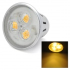 MR16 (G5.3) 5W 330lm 3-LED Warm White Light Bulb (12V)