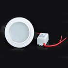 3W 6500K White Light Ceiling Lamp w/ LED Driver - White + Silver (AC 150~265V)