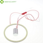 SENCART Ring Shape 1000lm 7500K 81-LED Cold White Light Angel Eyes Ceiling / Wall Lamp (12~24V)