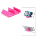 Universal Plastic Desktop Holder for iPhone - Pink