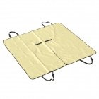Outing Dog Cat Pet Car Truck Seat Cover Hammock Carpet Mat - Beige