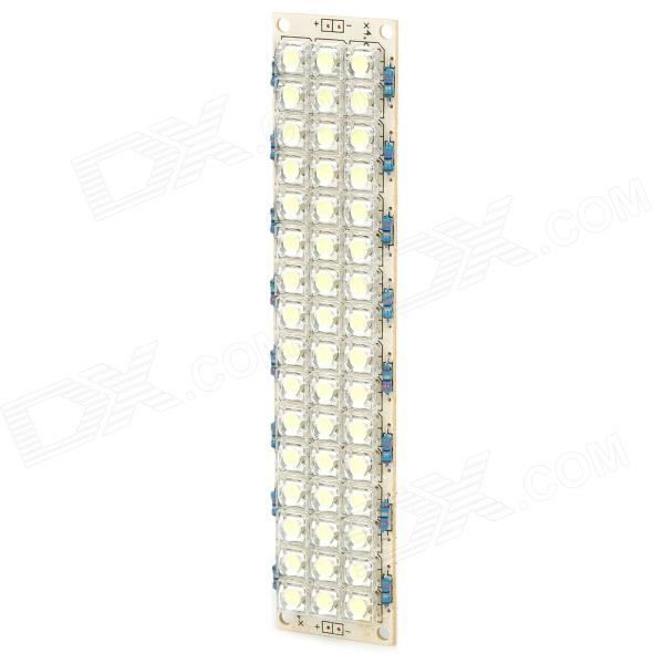 4W 6000K 4000MCD 48-LED White Light Lamp - Light Yellow (DC 10~14V)