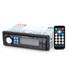 CA720 2,7'' LCD Screen Single Din Auto Car Audio Stereo Player w / FM / AUX / USB / SD - Schwarz + Grau