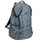 Oiwas 4071 Lightweight Water Resistant Nylon Outdoor Travel Backpack Bag - Grey (25L)