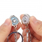Cute Envelop & Heart Shape Voice I LOVE YOU Keychain for Couples - Silver (2 PCS)