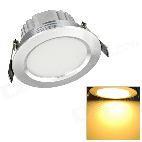 H! Win HTD694 9W 810lm 3200K Warm White 18-SMD 5730 LED Ceiling Down Light w/ LED Driver - Silver