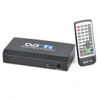 High Speed 40km/h H.264 HDMI 1080P MPEG4 Mobile Digital Car DVB-T2 TV Receiver - Black + White