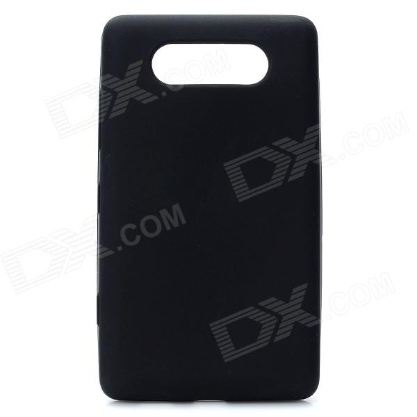 Protective Silicone Back Case for Nokia Lumia 820 - Black protective silicone case for nds black