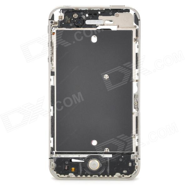 Replacement Middle Bezel Chassis / Plate Frame w/ Repair Tool Kit for Iphone 4S - Silver ia73 original chassis middle housing frame for iphone 4 silver
