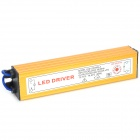 Waterproof 30W LED Constant Current Source Power Supply Driver - Golden + Silver (12cm-Cable)