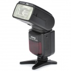 "OLOONG 2.0"" LCD Speedlite w/ 1-LED for Canon 600D / 60D / 7D - Black (4 x AA)"