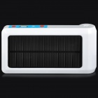 BSV BSV-AP001 Solar-Luftsprudler Pump + External Power Bank - White + Black