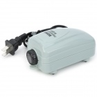 Super Quiet Aquarium Oxygenated Air Pump for Fish / Tortoise - Light Grey (70cm-Cable)