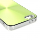 CD Pattern Protective Back Case for Iphone 5 - Green