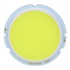 10W 1050lm 6500K 1-LED White Light Bulb - Yellow + White (DC 30~34V)